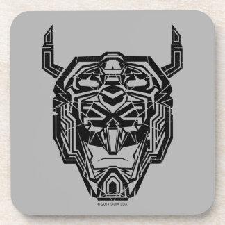 Voltron | Voltron Head Fractured Outline Coaster