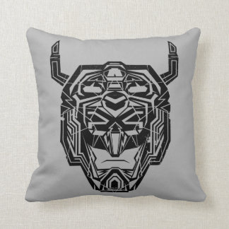 Voltron | Voltron Head Fractured Outline Cushion