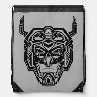 Voltron | Voltron Head Fractured Outline Drawstring Bag