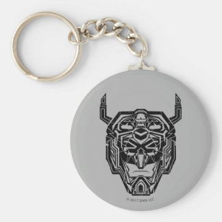Voltron | Voltron Head Fractured Outline Key Ring
