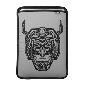 Voltron | Voltron Head Fractured Outline MacBook Sleeve