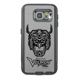 Voltron | Voltron Head Fractured Outline OtterBox Samsung Galaxy S6 Case