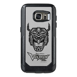Voltron | Voltron Head Fractured Outline OtterBox Samsung Galaxy S7 Case