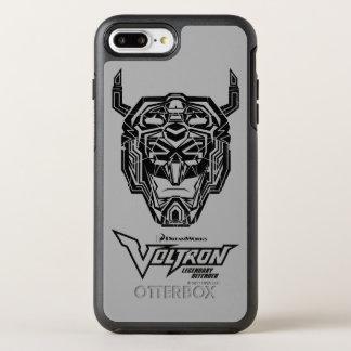 Voltron | Voltron Head Fractured Outline OtterBox Symmetry iPhone 8 Plus/7 Plus Case