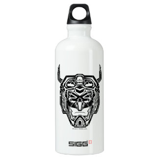 Voltron | Voltron Head Fractured Outline Water Bottle