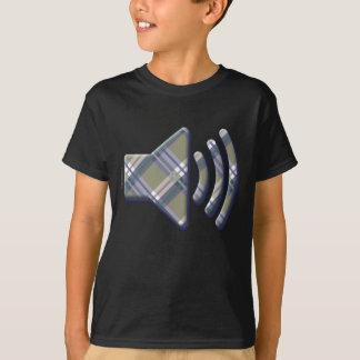 Volume Icon in Plaids, Checks, Tartans T-Shirt