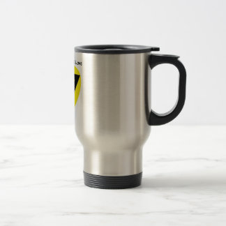 Voluntaryism is Love - Travel beverage container Stainless Steel Travel Mug