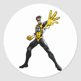 Voluntaryist Action Hero Sticker