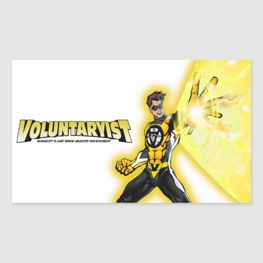 Voluntaryist Blast Sticker