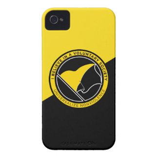 Voluntaryist iPhone 4/4S Case-Mate ID Case