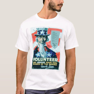 Volunteer and Choose your Branch (US02082) T-Shirt