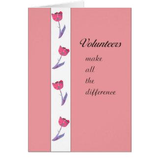 Volunteer Appreciation Card