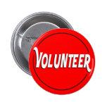 Volunteer Badge Custom Colour