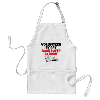 Volunteer by Day Book Lover by Night Standard Apron