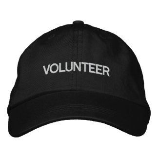 VOLUNTEER EMBROIDERED HATS