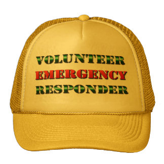 Volunteer Emergency Responder Cap
