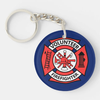 Volunteer Fire Fighter Key Ring