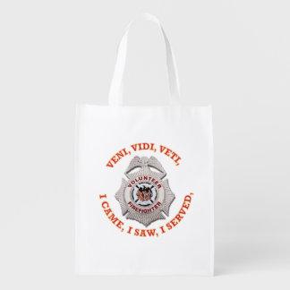 Volunteer Firefighter Badge