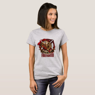 Volunteer FireFighter Bulldog T-Shirt