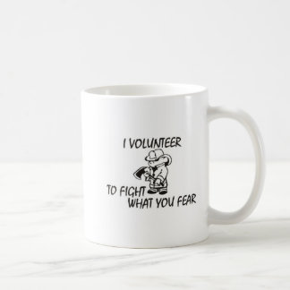 Volunteer Firefighter Coffee Mug