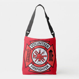 Volunteer Firefighter Crossbody Bag