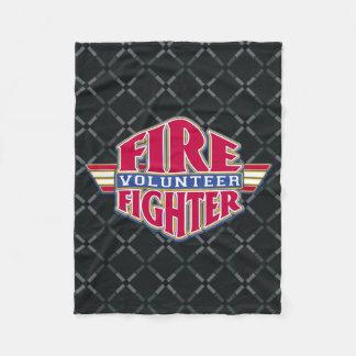 Volunteer Firefighter Fleece Blanket