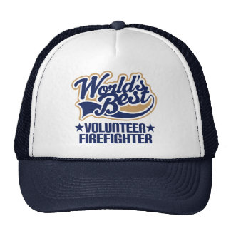 Volunteer Firefighter Gift Hat