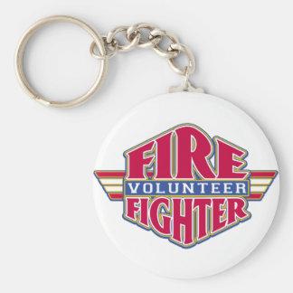 Volunteer Firefighter Key Ring