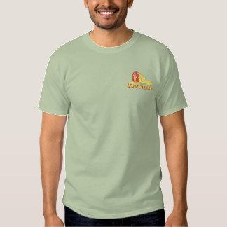 Volunteer Firefighter Logo Embroidered T-Shirt