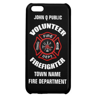 Volunteer Firefighter Name Template Cover For iPhone 5C