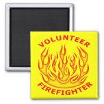 Volunteer Firefighter Refrigerator Magnet