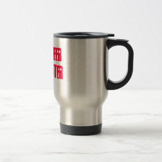 Volunteer Firefighter Travel Mug