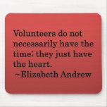 Volunteer Heart Mouse Mat
