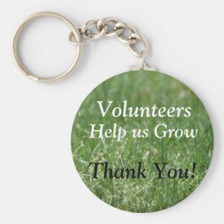 Volunteer Key Ring Basic Round Button Key Ring