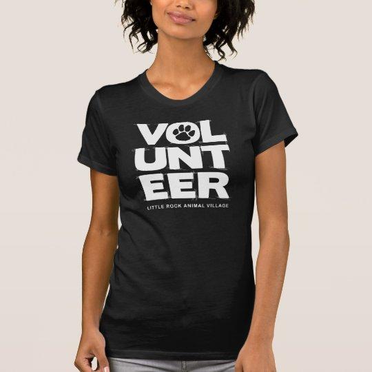 """""""Volunteer, LRAV"""" Ladies T-shirt (Black)"""