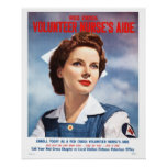 Volunteer Nurses Aide Poster