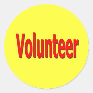 volunteer stickers