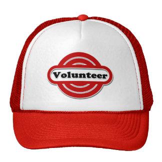 Volunteer Tshirts, Volunteer Buttons and more Mesh Hats