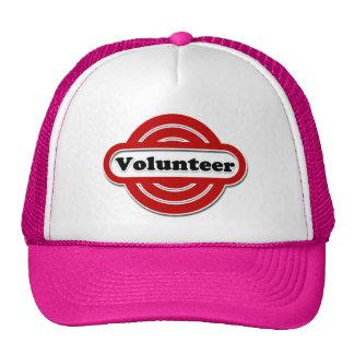 Volunteer Tshirts, Volunteer Buttons and more Trucker Hats