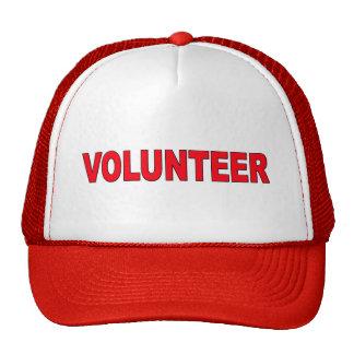 Volunteer wear mesh hats