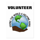 Volunteers are the world's helping hands