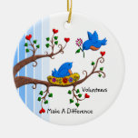 Volunteers Make A Difference Christmas Tree Ornaments