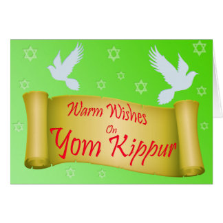 Vom Kippur Greeting Card