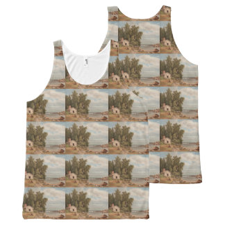 Von Wright's Lehtisaari art tanktops All-Over Print Tank Top