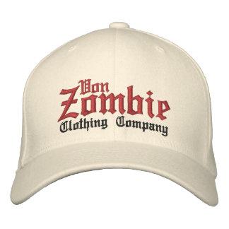 Von Zombie Skull Cap 001B Embroidered Hat