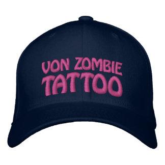 Von Zombie Tattoo 001BB Embroidered Baseball Caps