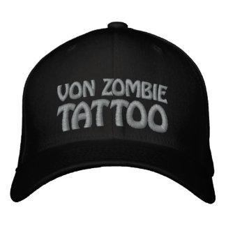 Von Zombie Tattoo 001FF Baseball Cap