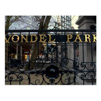 Vondel Park, Amsterdam Postcard