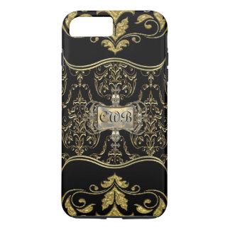 Vondisca Elegant Baroque Monogram iPhone 7 Plus Case