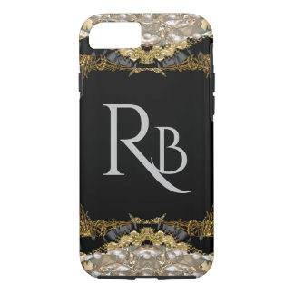 Vonrowess Create your own Monogram iPhone 8/7 Case